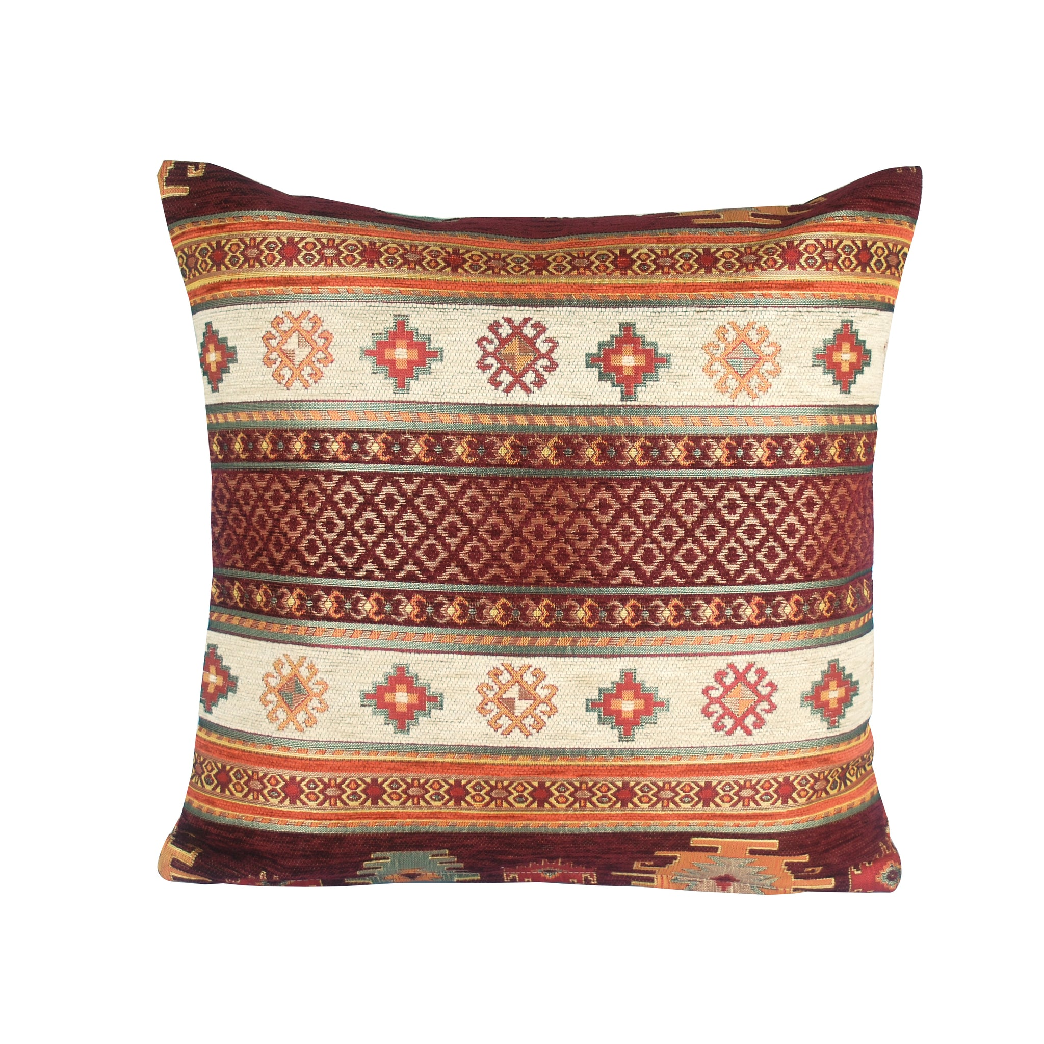 Traditional Turkish Handmade Cushion 42x42cm ET-M93 Red