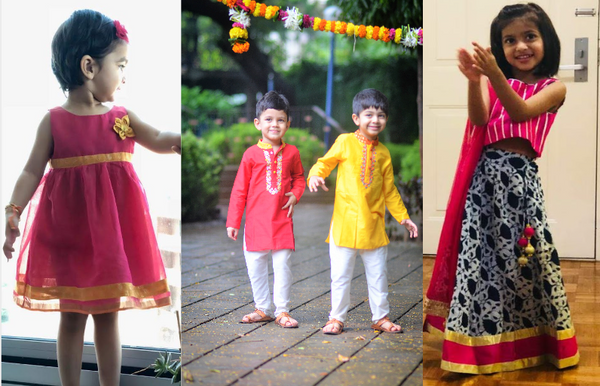 Indian Wear for Boys and Girls From Urban Dhaage