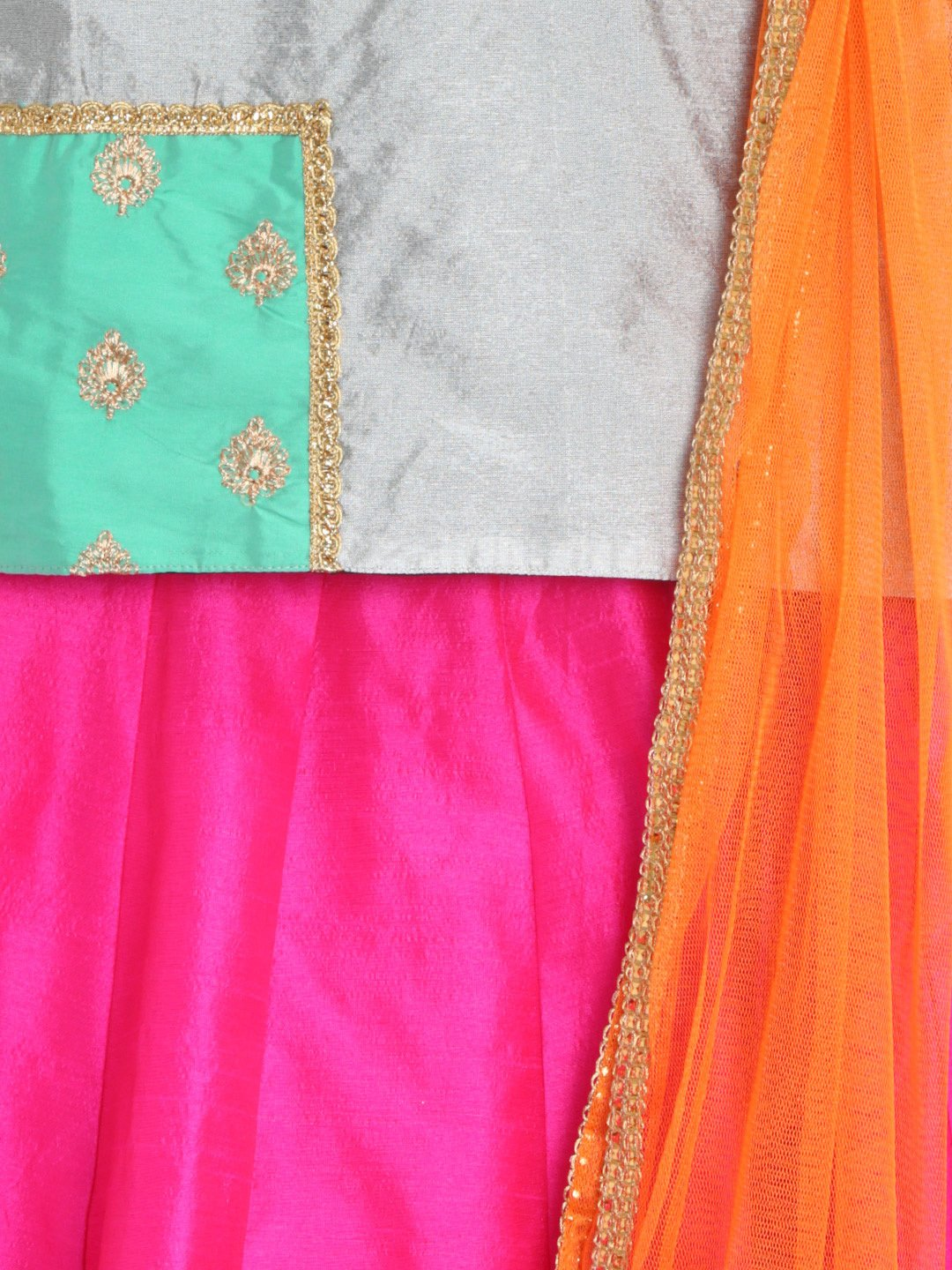 closeup girls ethnic lehenga choli