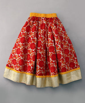Cotton Long Skirt Lehenga