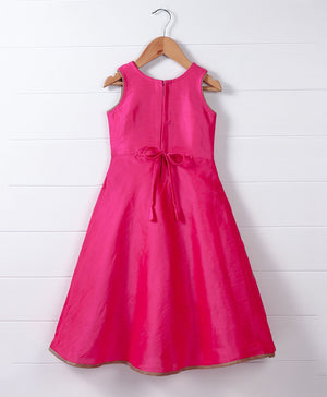 Ethinc Gown - Pink