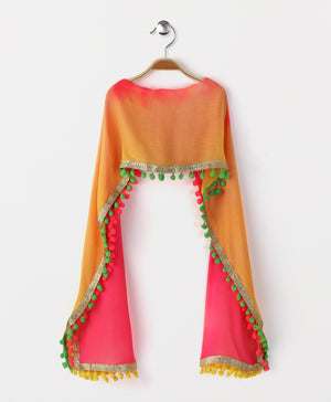 stitched girls dupatta