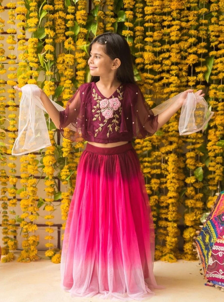 NEW ARRIVAL! Multilayered handwork Lehenga Choli