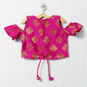 backview girls lehenga choli