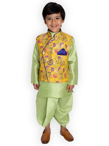 NEW ARRIVALS! Dhoti Kurta with Floral Jacket