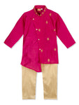 NEW ARRIVALS! Motif Cross Design Kurta Pajama Set For Boys
