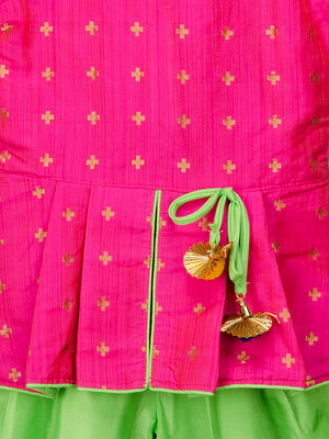 Designer Dhoti Kurta for Girls