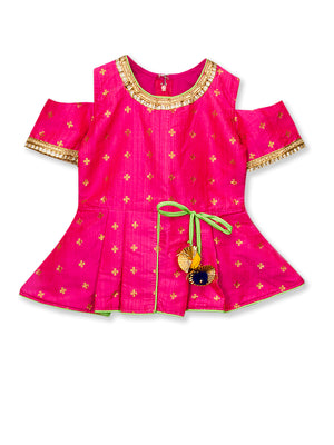 Peplum Kurta for Girls