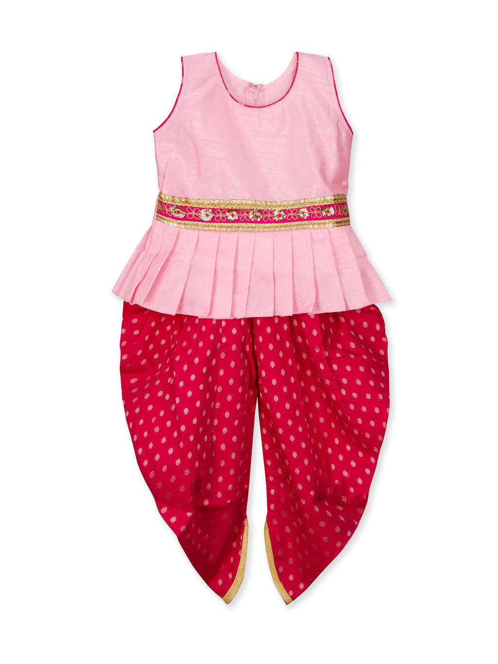 Peplum Dhoti Kurta for Girls