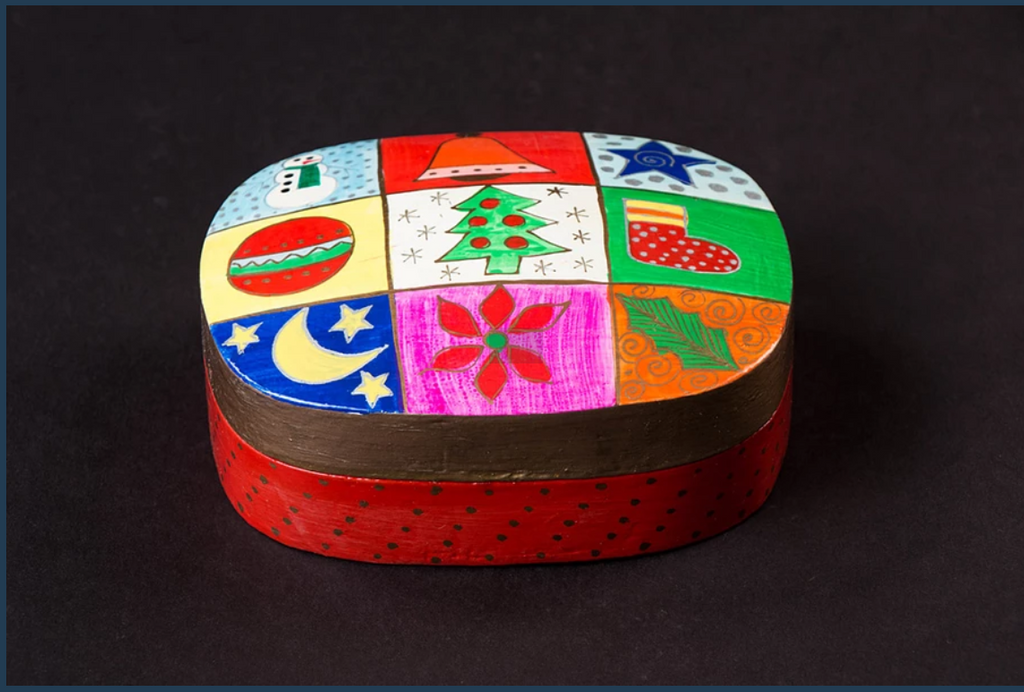 Christmas Box - Wooden