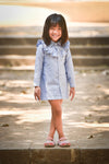 Denim/Chambray Shirt Dress - FREE SHIPPING