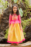 Trendy kids ethnic gown
