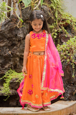 Patch work lehenga choli