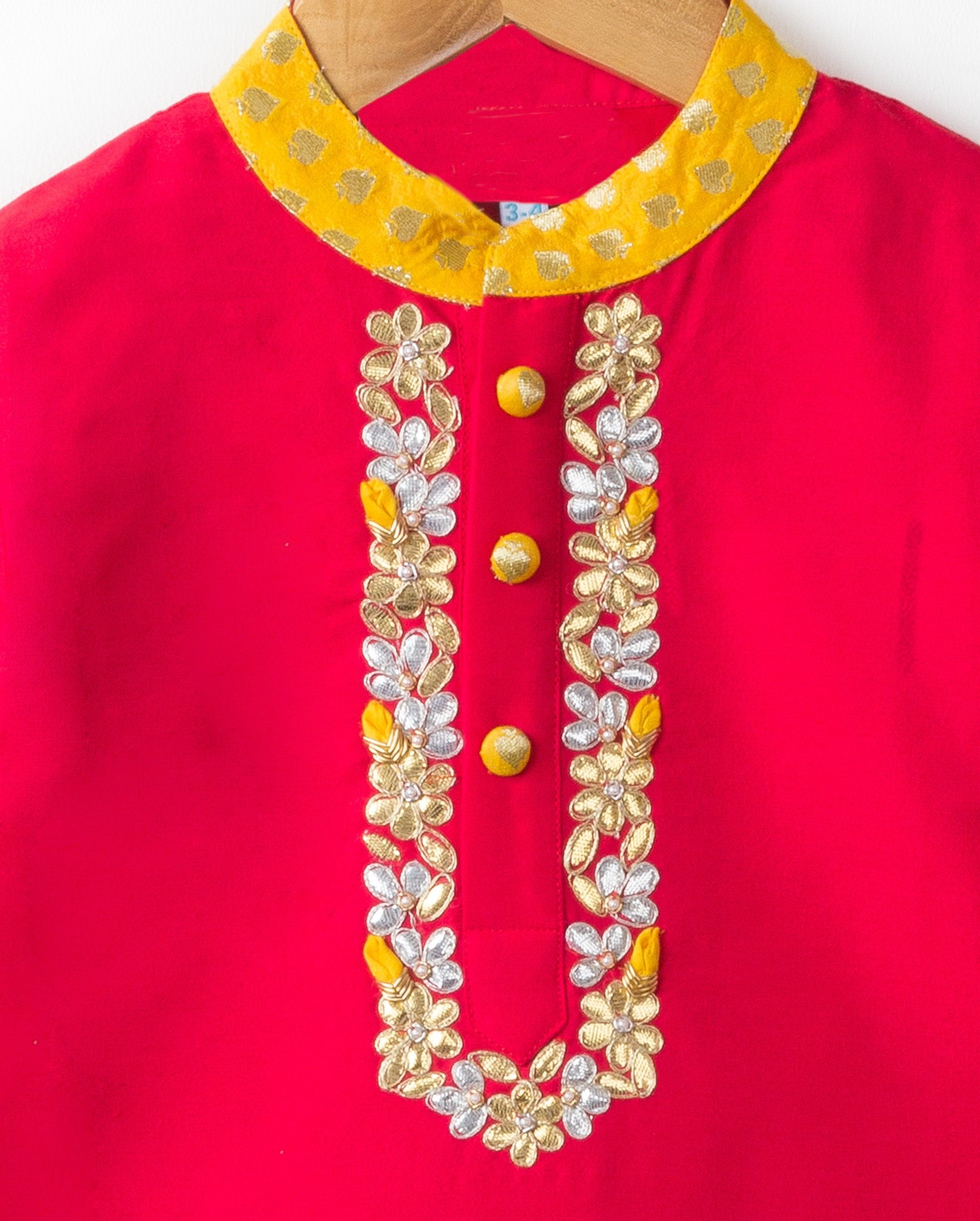 Embroidered Kurta for boys