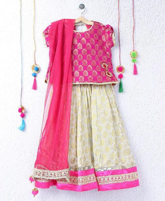 Infant Lehenga choli