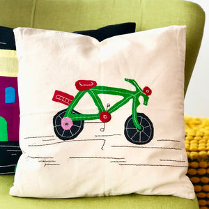 Cushion Cover - Cycle