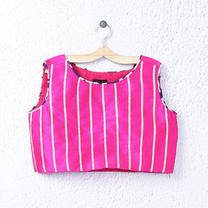 Stripped blouse for girls