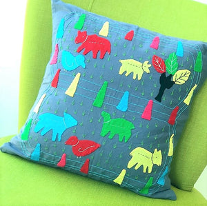 Cushion Cover - Zoo