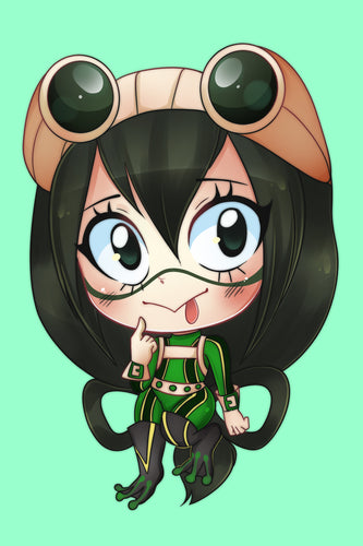 CHIBI ART PRINT | ANIME | Froppy