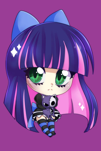 CHIBI ART PRINT | ANIME | Stocking