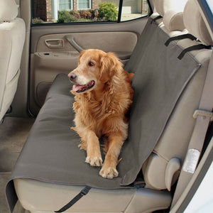 Standard Back Seat Cover (Grey) - Oh My Dog Supply