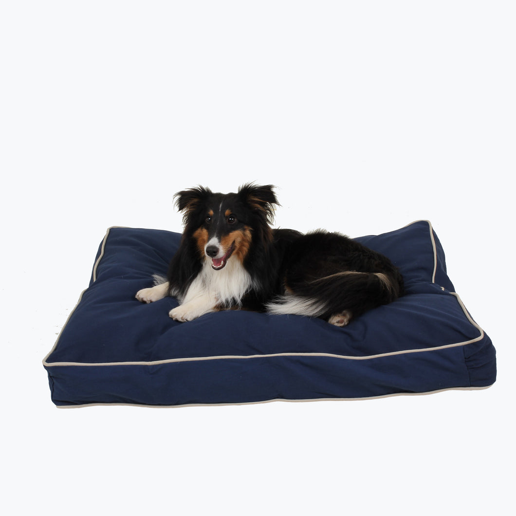 Classic Canvas Dog Bed