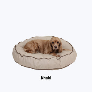 Classic Corded Round Bed - Oh My Dog Supply