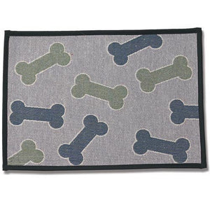 Colored Bones Placemat - Oh My Dog Supply