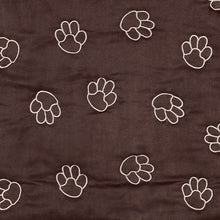 Clearance Paw Print Single Seat Cover - Oh My Dog Supply