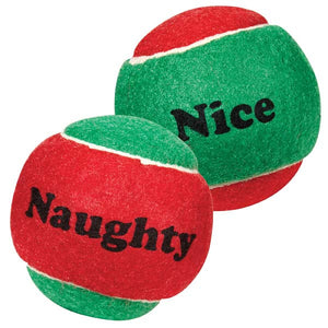 Holiday Tennis Balls - Oh My Dog Supply