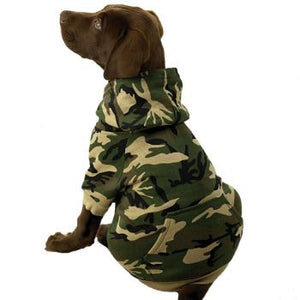 Clearance Classic Camo Dog Hoodies