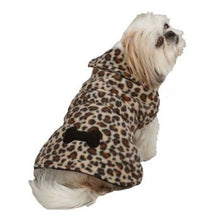 Clearance Leopard Fleece Dog Coat