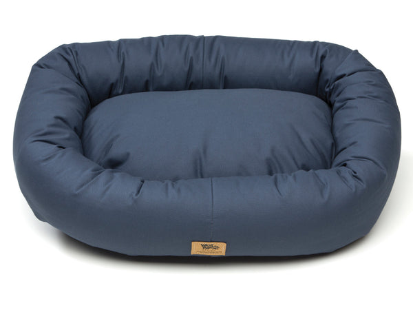 Cotton Bumper Dog Bed