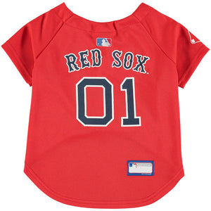 Boston Red Sox Dog Jersey - Oh My Dog Supply