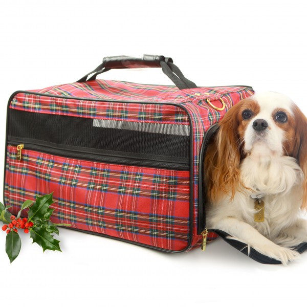 The Classic Tartan Dog Carrier