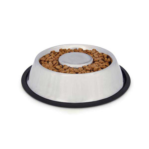 Easy Eater Bowl in Stainless Steel - Oh My Dog Supply