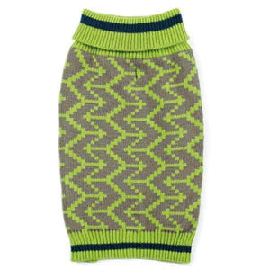Classic Geometric Turtleneck Dog Sweaters - Oh My Dog Supply