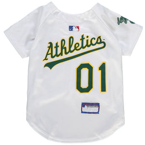 Oakland Athletics Dog Jersey