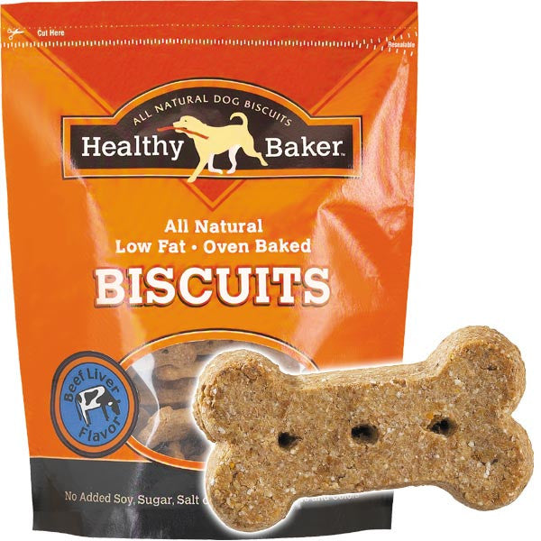 Healthy Baker Flavored Biscuits - 2 lbs - Oh My Dog Supply