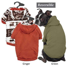 Friendly Forest Reversible Hoodie - Oh My Dog Supply
