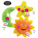 Bright Celestial Berber Dog Toys