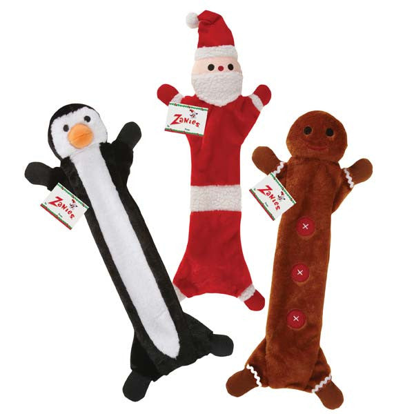 Festive Unstuffies Dog Toys - Oh My Dog Supply