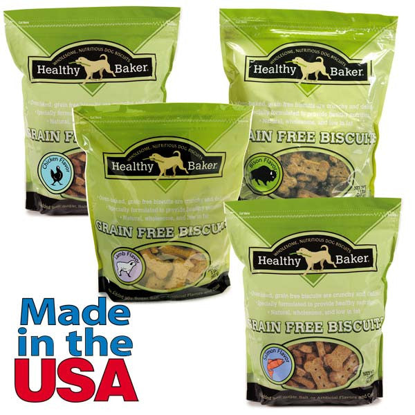 Healthy Baker Grain Free Dog Treats - 2 lbs