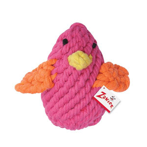 Bright Rope Chick Dog Toys