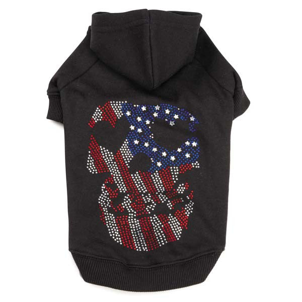 American Skull Dog Hoodies - Oh My Dog Supply