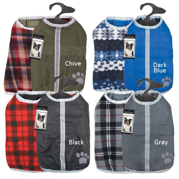 Rugged Warm and Waterproof Dog Jacket
