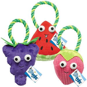Happy Fruit Rope Tugs - Oh My Dog Supply