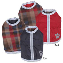 Warm and Waterproof Reversible Dog Jacket