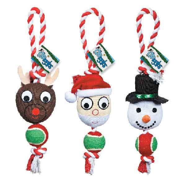 Holiday Friends Rope Toys