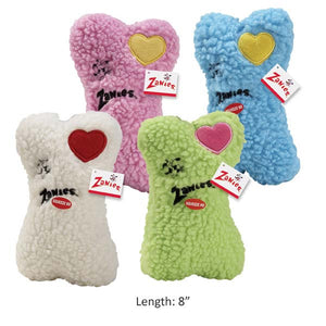 Embroidered Heart Berber Bones - Oh My Dog Supply